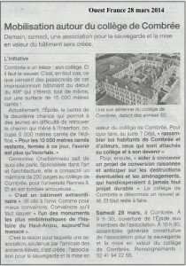 4 Ouest France 28 mars 2014