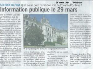 5 L'Eclaireur 28 mars 2014