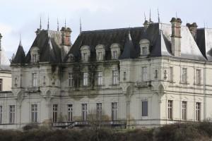 Bourg d'Iré : le château de la Maboullière (XIXème)