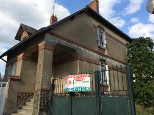 L'ancienne conciergerie devenue maison du directeur (vendue!)