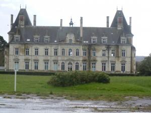 Pouancé : le château de Tressé (XIXe siècle)